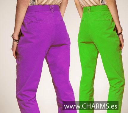 pantalones chinos mujer