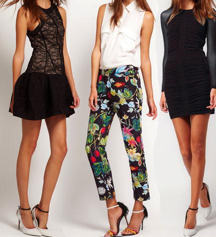 mujer moda vestidos
