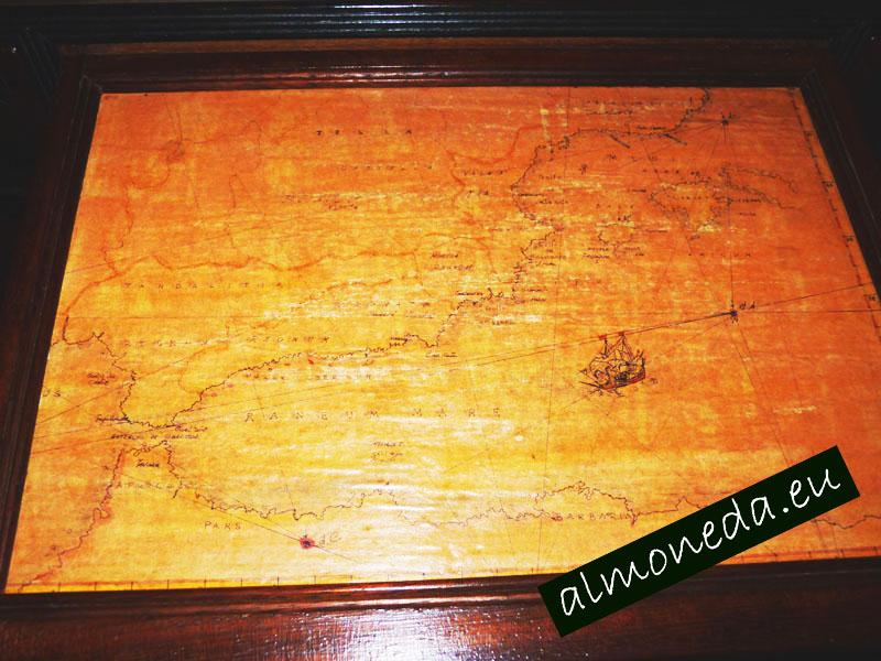 mapa antiguo baleares