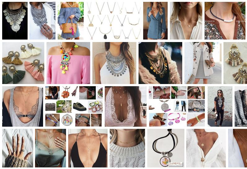 collares moda mujer tienda online