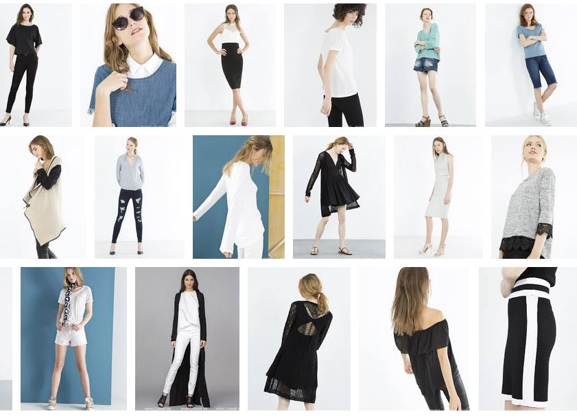 Fotos de las nuevas colecciones para esta temporada en moda mujer