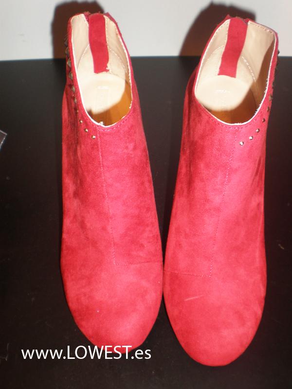 botas bajas mujer
