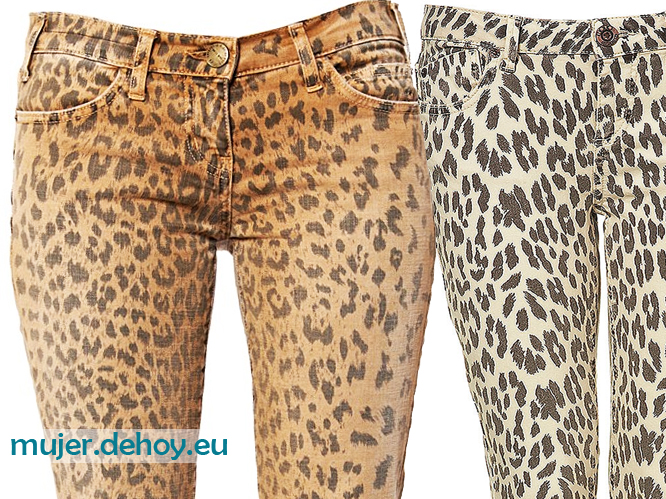 pantalones leopard print
