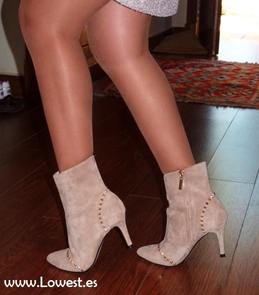 botines botas bajas
