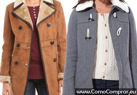 abrigo mujer borreguito