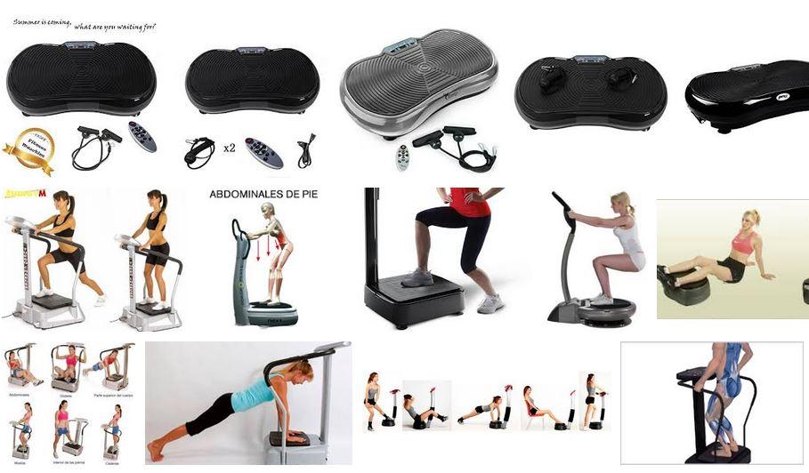 Mejores plataformas vibratorias para fitness Opiniones mejor modelo