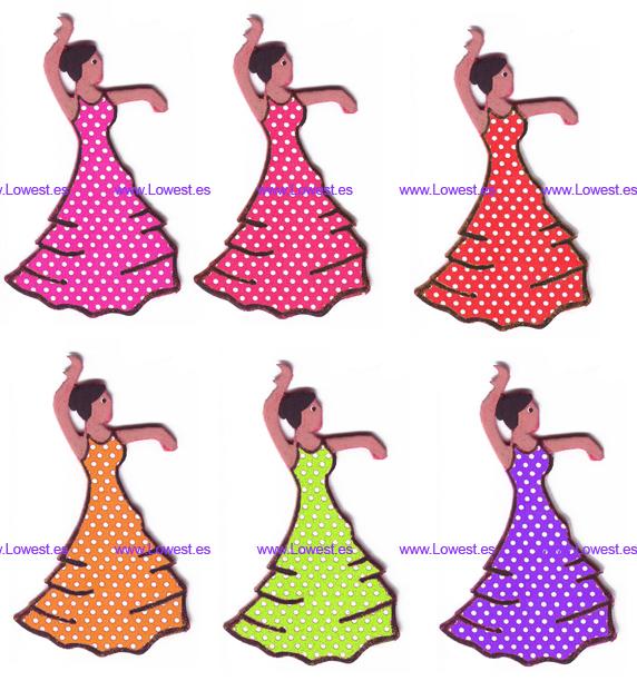 broche feria flamenca