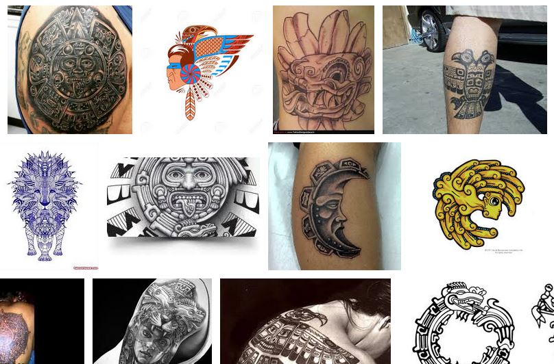 tatuajes aztecas mayas notizalia