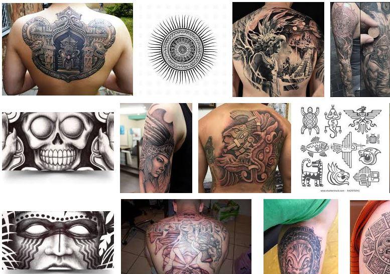 tatuajes mayas aztecas notizalia