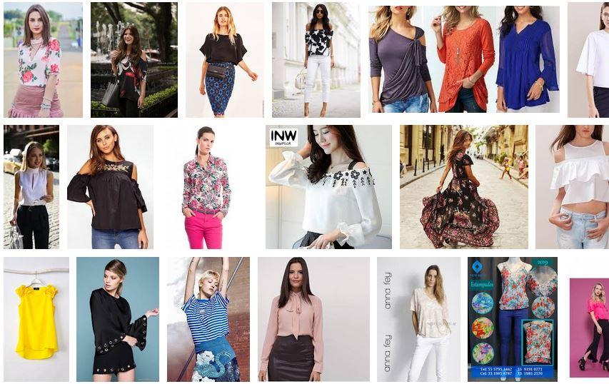 blusas de moda mujer 2019