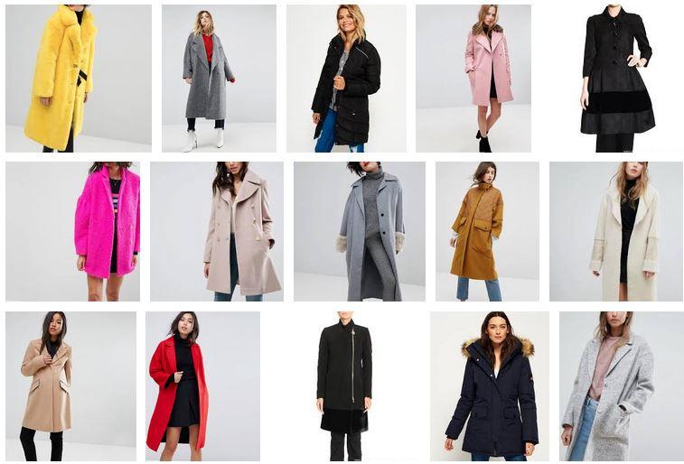 moda invierno mujer abrigos colecciones online dama
