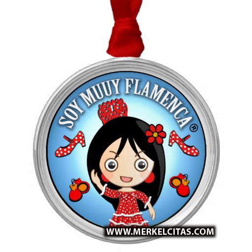 medallitas de flamenca