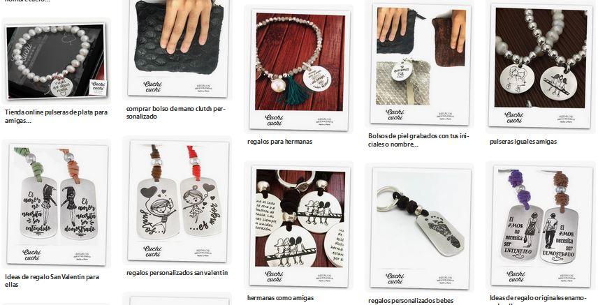 pulseras grabadas en plata 2019