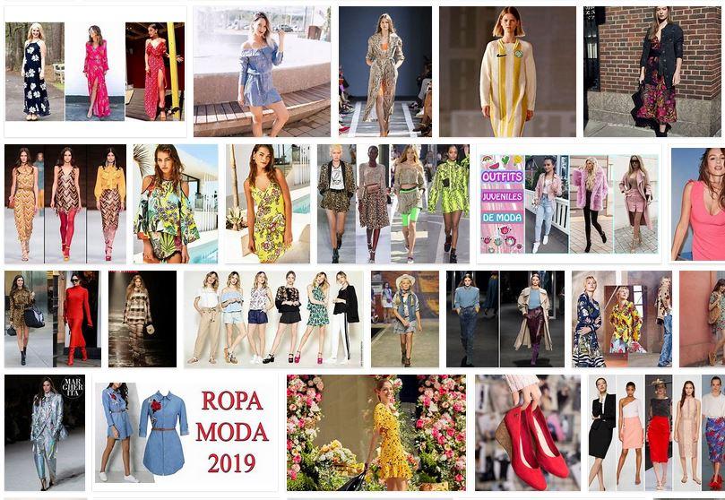 ropa moda 2019
