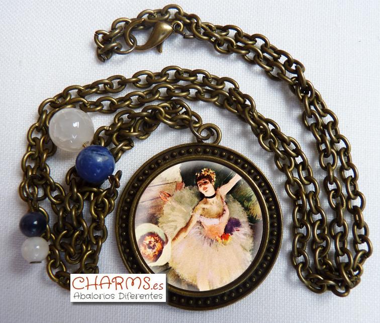 collar vintage bailarina