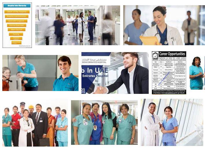 empleo en hospitales