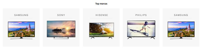 top marcas tv notizalia