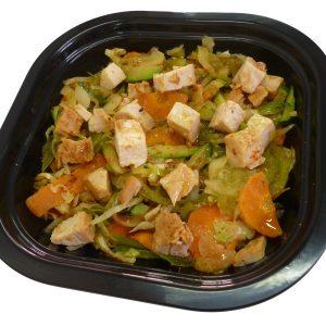 Chop Suey de verduras y pollo especiado