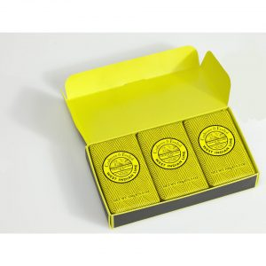 Crabtree & Evelyn West Indian Lime Set (Includes 3 Soaps) (450g)