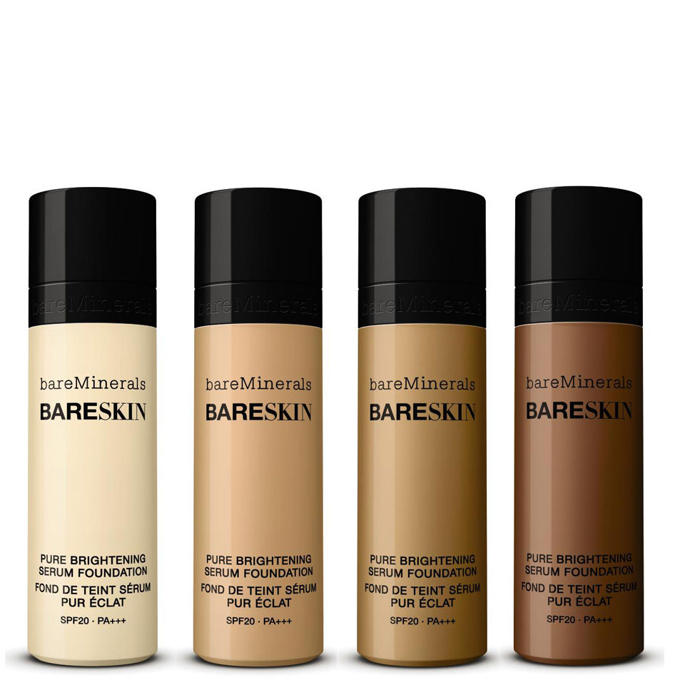 bareMinerals bareSkin Pure Brightening Serum Foundation SPF20 in Bare Cream