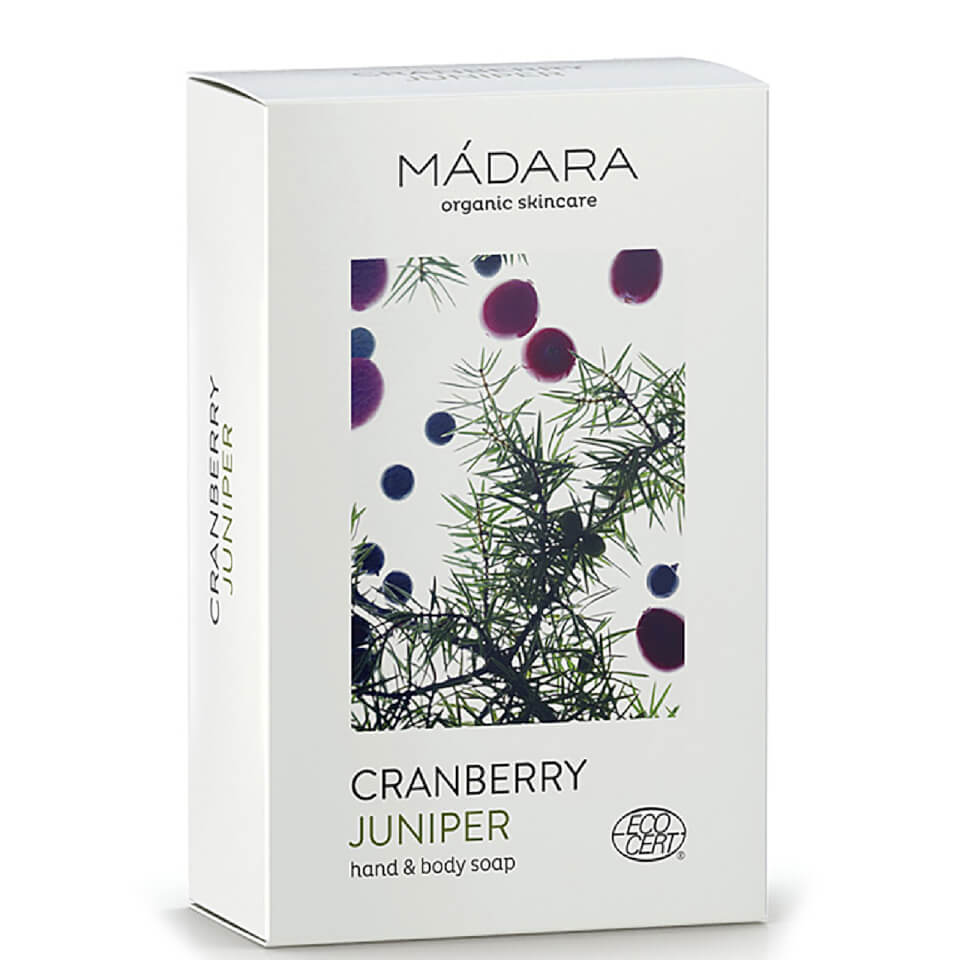 MaDARA Cranberry & Juniper Hand & Body Soap 150g
