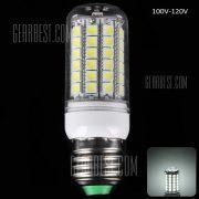 18W E27 1650LM - 5050 69 LED SMD 6000 - 6500K de maiz 100 - 120V Bombilla Bombilla transparente
