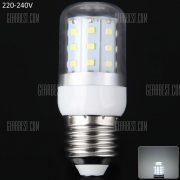 750LM 8W E27 30 luces LED SMD2835 transparente de ahorro de energia de luz de maiz 3000 - 3200K