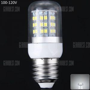 E27 10W SMD2835 48 100 - 120V Luz LED 900lm 6000 - 6500K Transparente luz de maiz