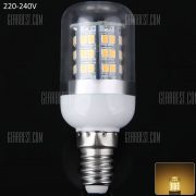 E14 10W luz LED SMD2835 48 900LM 3000 - 3200K Luz de maiz con sombra clara