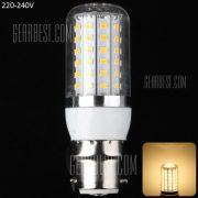 B22 15W - 72 LED SMD2835 3000 - 3200K 1350LM Clear LED Lampara de maiz