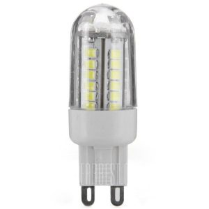 HZLED 460LM G9 3W SMD2835 6000K 42 LED ultra brillantes luces de bombilla de maiz
