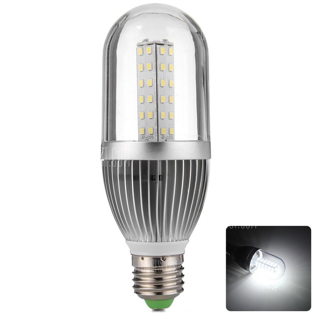 YouOKLight 10W E27 54 x SMD2835 3500K 840LM LED Luz de maiz con envoltura clara