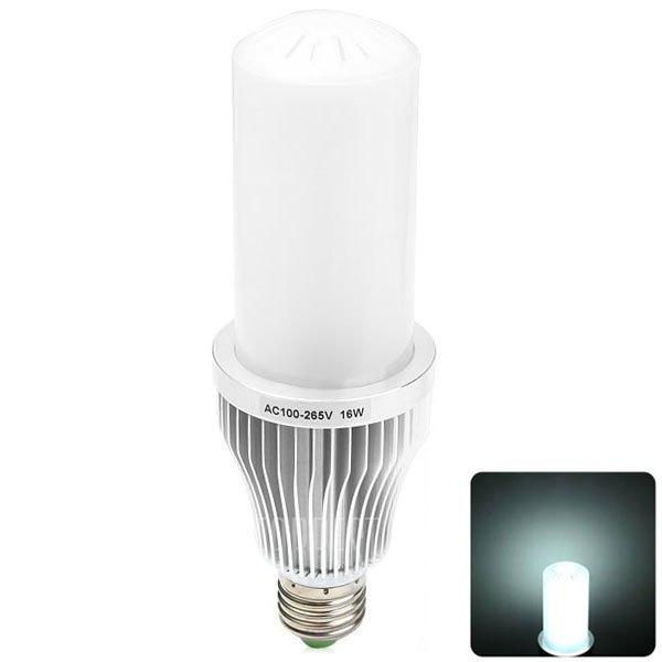 E27 16W 74 SMD2835 3330LM 6000 - 6500K luces LED Lampara de bolas de ahorro de energia CA 100 - 250 V