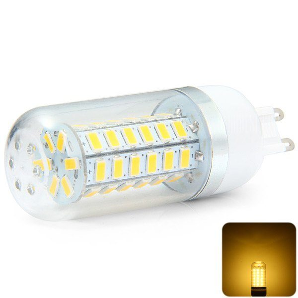 530LM G9 4W SMD - 5730 48 LED Luz Blanca suave regulable LED Lampara de maiz