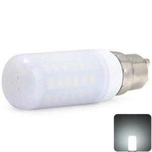 Sencart 2200LM GU10 11W SMD 5730 56 LED Luz Lampara con maiz lechoso sombra