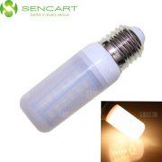 SENCART E27 12W 56 x 5730 SMD 2200LM 3500K Bombilla LED regulable CA 110 - 240 V