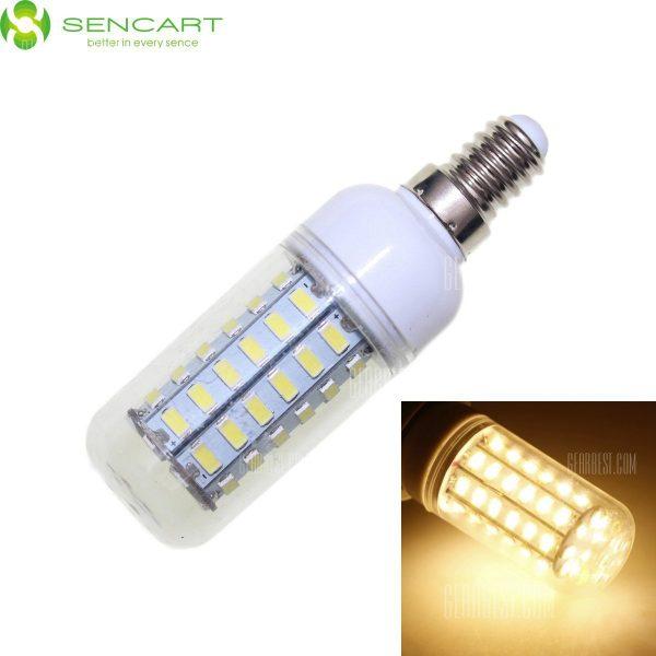 Sencart E14 12W - 5730 56 LED SMD suave regulable Bombilla de luz LED blanco 2200LM CA 110 - 240 V