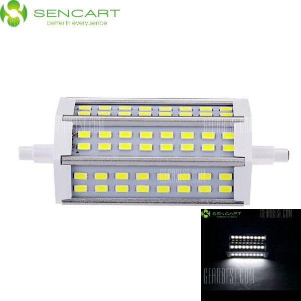 Sencart R7S J118 15W 6000K 1200LM 48 x 5730 SMD LED Blanco Luz Enchufe horizontal ( AC 85 - 265V )