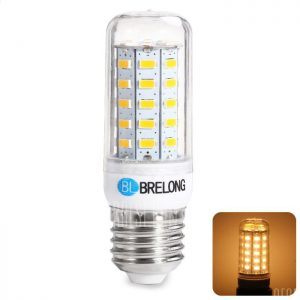 BRELONG E27 9W 5730 1100LM LED Lampara de maiz
