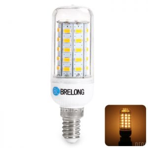 BRELONG E14 9W 5730 1100LM LED Lampara de maiz
