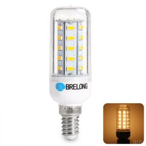 BRELONG E14 7W SMD 5730 900LM LED Lampara de maiz
