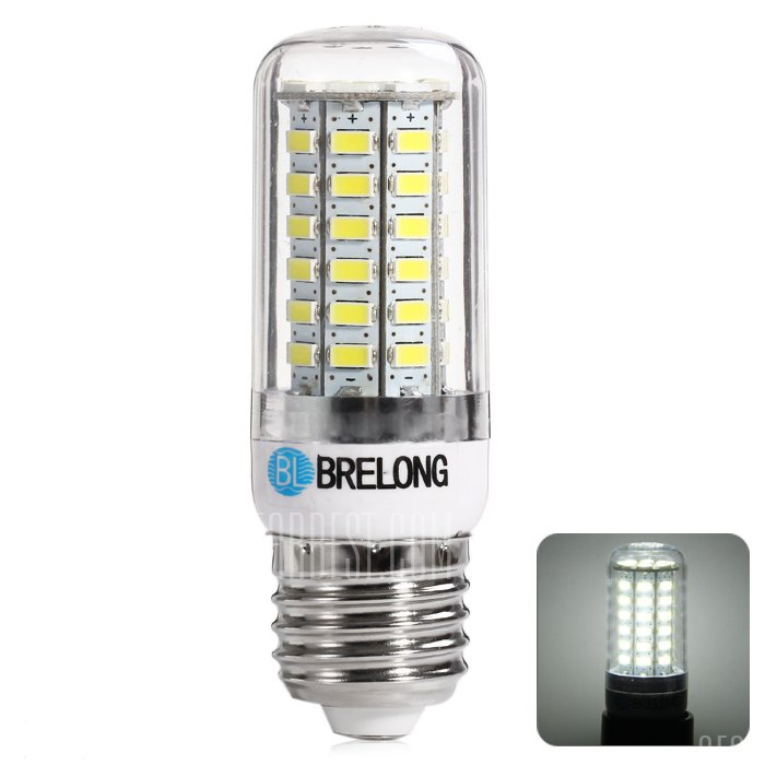 BRELONG 13W E27 1500LM 5730 SMD LED regulable luz de maiz