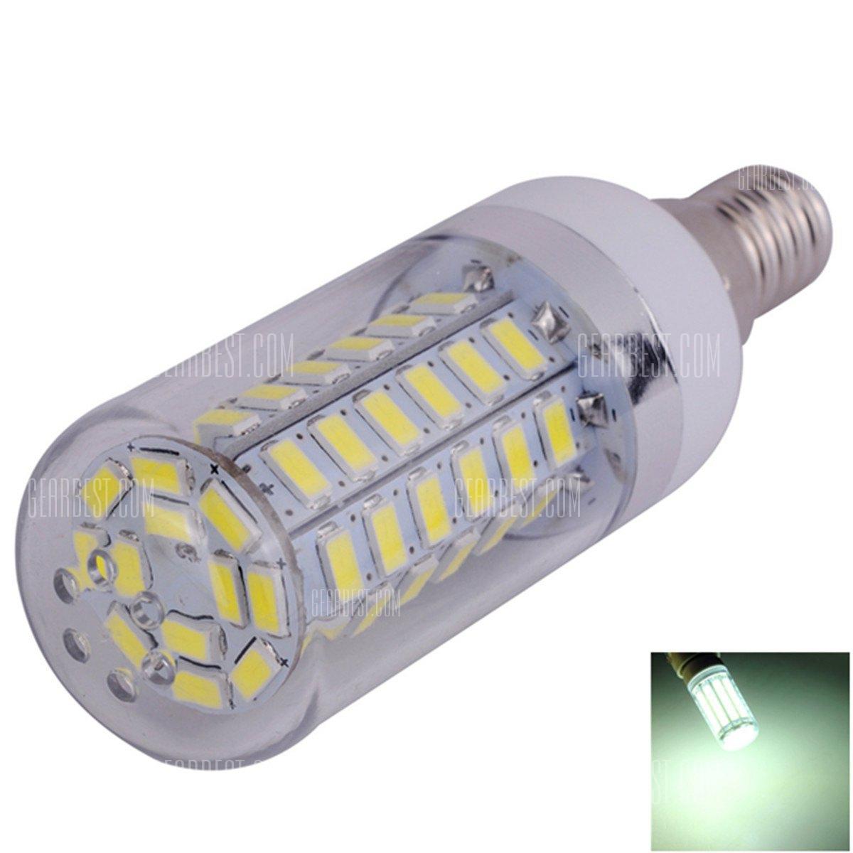 E14 bombilla LED regulable de maiz