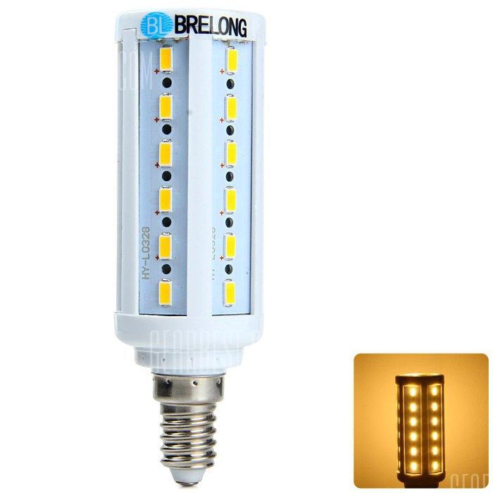 E14 BRELONG 7.5W SMD LED Luz de maiz 5730