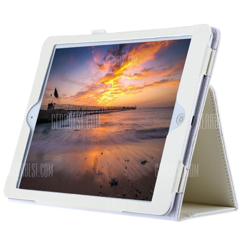 Ultra Slim lichi lineas Funda protectora para iPad Air