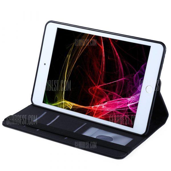 Gira 360 grados Stand Case para iPad Smart Cover Mini 4