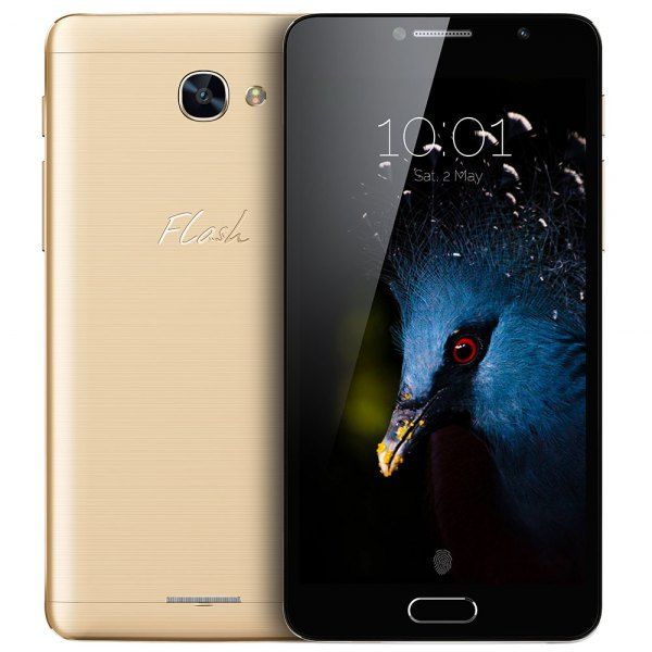 Alcatel flash Plus 2 5.5 pulgadas 4G phablet android 6.0 MTK6755 Octa Core 3 GB OTG sensor de huellas dactilares Camaras de RAM 32 GB ROM 5.0MP + 13.