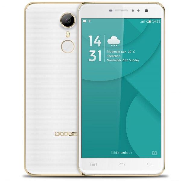 Doogee F7 Pro Android 6.0 4G phablet de 5,7 pulgadas de pantalla MTK6797 Arco Deca Core 4 GB de RAM 32 GB ROM 21MP Camara principal Tipo-C sensor de h