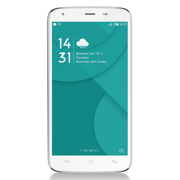 Doogee T6 Pro 5.5 pulgadas 4G phablet android 6.0 MTK6753 de 64 bits Octa Core a 1,5 GHz camara OTA Hotknot 3 GB + 32 GB 13.0MP principal HotKnot 625