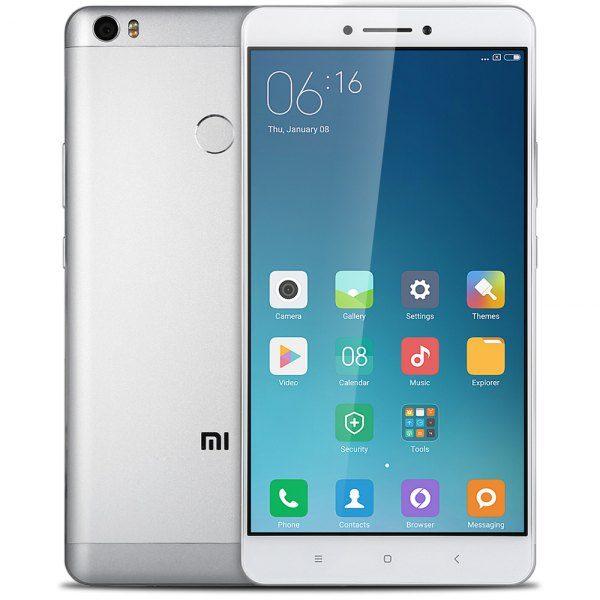 Xiaomi Mi Max 6,44 pulgadas 4G phablet android 6.0 Qualcomm Snapdragon 650 de 64 bits Hexa cristal sensor de huellas dactilares Core a 1,8 GHz 3 GB d